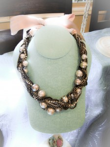 Stella Dot Pearl Necklace