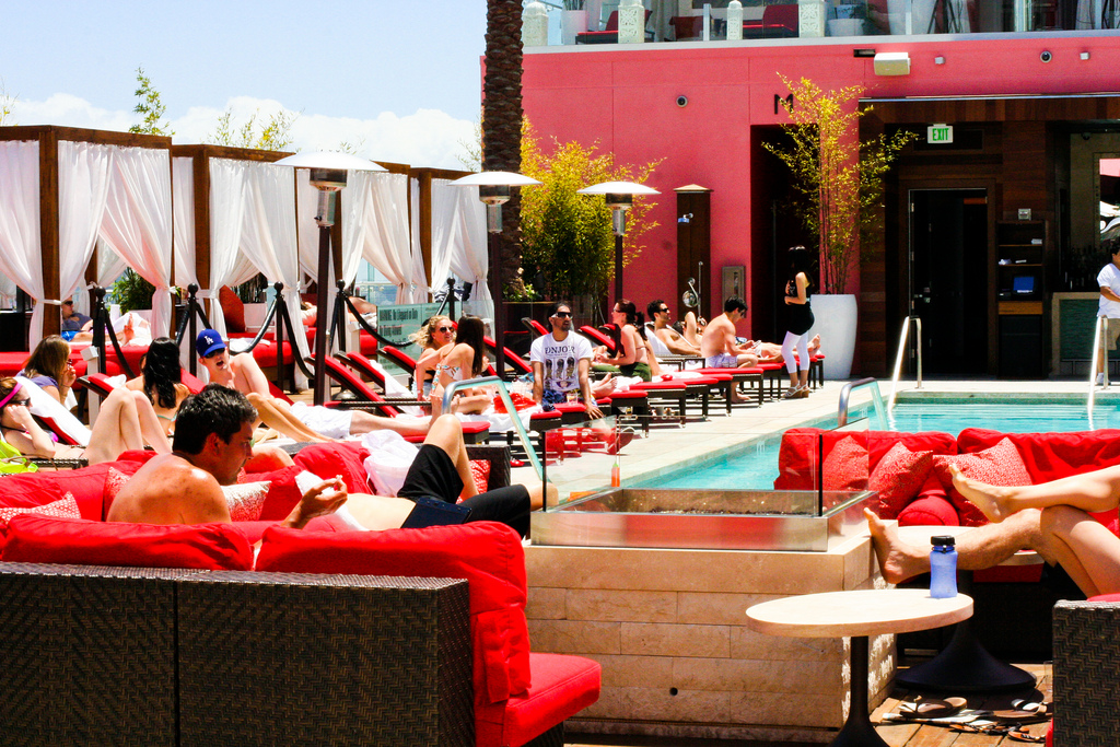 W Hotel Rooftop Pool