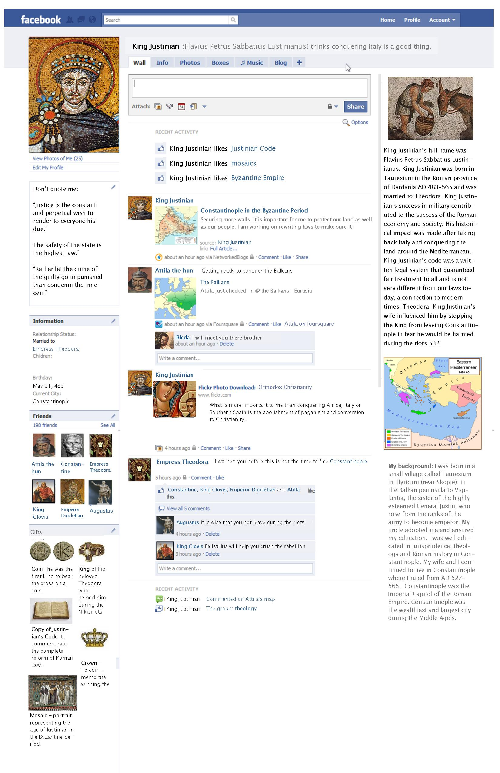 Facebook the school project the modchik for Facebook templates for projects