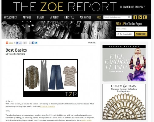 What i wore blogher edition the modchik The zoe report