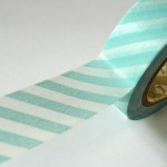 mint-green-striped-washi-wape