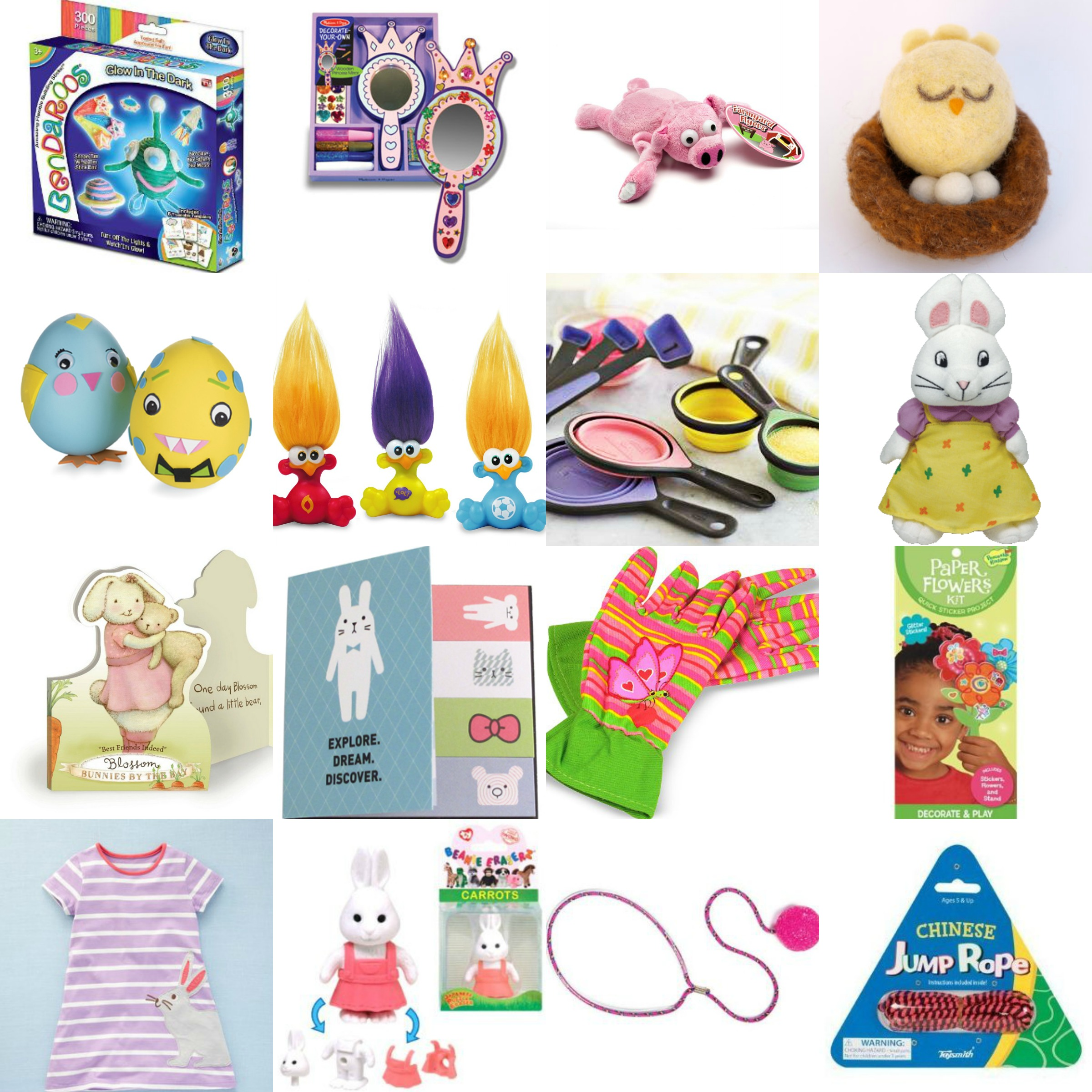 Easter basket options the modchik easter basket ideas non candy negle Choice Image