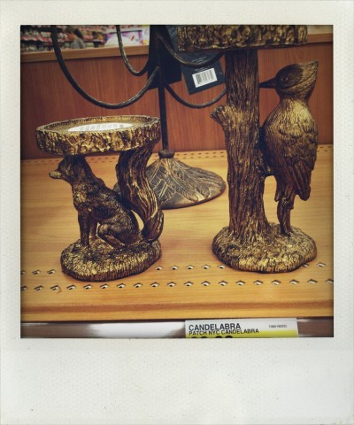 Patch NYC Gold Candle Holders at Target
