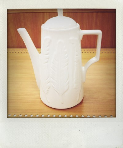 PATCH NYC CERAMIC COFFEE POT for Target