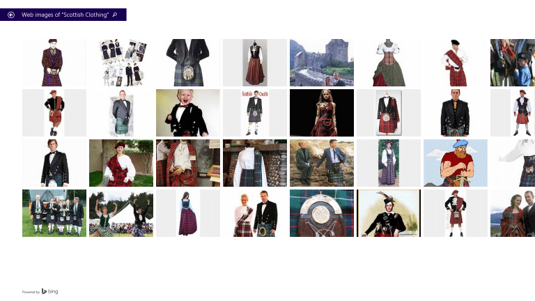 Scottish Clothes