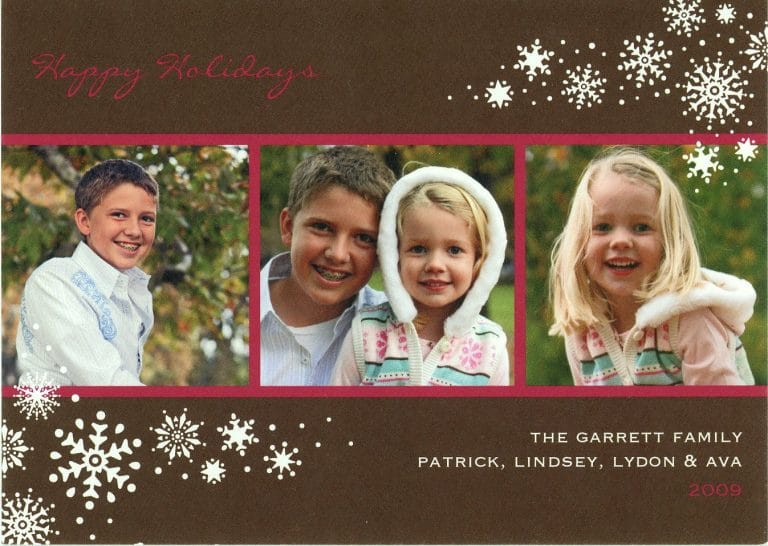 Christmas Cards Past // Week 51