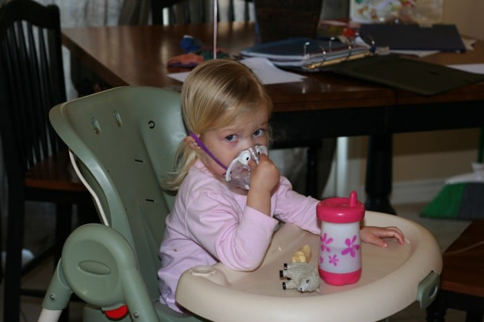 2 year-old-nebulizer
